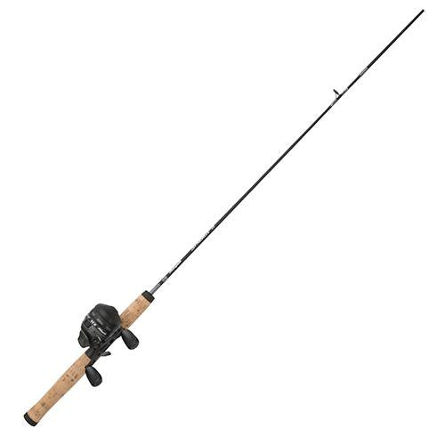 Shakespeare Synergy Ti Spincast Combo - 2 Bearings, 6' Length, 2 Piece Rod, 6-12 lb Line Rating, Medium Power