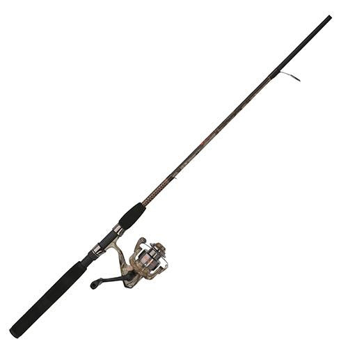 Shakespeare Ugly Stik Camo Spinning Combo - 25 Reel Size, 2 Bearings, 5' 2pc Rod, 4-10 lb Line Rating, Light Power