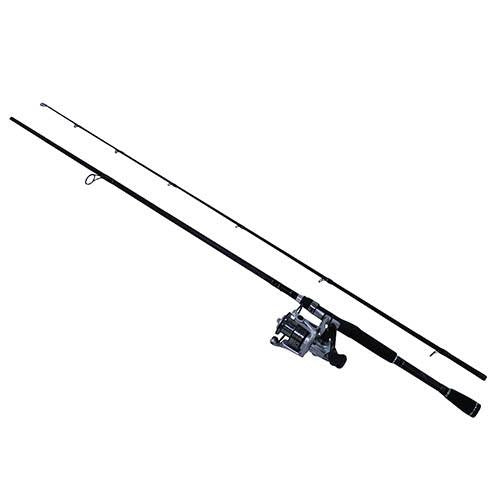 Abu Garcia Silver Max Spinning Combo - 40, 5.1:1 Gear Ratio, 7' Length, 2 Piece Rod, 8-17 lb Line Rate, Medium Power