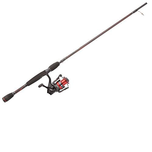 "Abu Garcia Black Max Spinning Combo - 5, 5.2:1 Gear Ratio, 5'6"" Length, 2 Piece Rod, 2-8 lb Line Rate, Light Power"