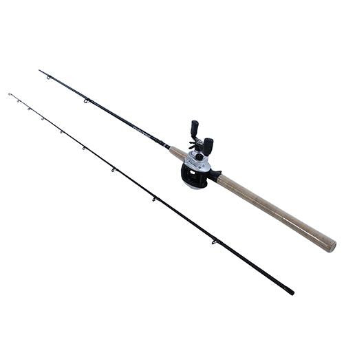 "Abu Garcia Maxtoro Baitcast Combo - 50, 5.3:1 Gear Ratio, 7'6"" Length 2pc Rod, 8-12 lb Line Rate Medium-Heavy Power"
