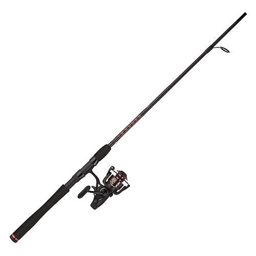 Penn Fierce II Live Liner Spinning Combo - 6000, 5.6:1 Gear Ratio, 7' 1pc Rod, 12-25 lb Line Rate, Medium-Heavy Power