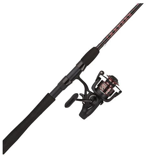 Penn Fierce II Live Liner Spinning Combo - 6000, 5.6:1 Gear Ratio, 9' 2pc Rod, 15-30 lb Line Rate, Medium-Heavy Power