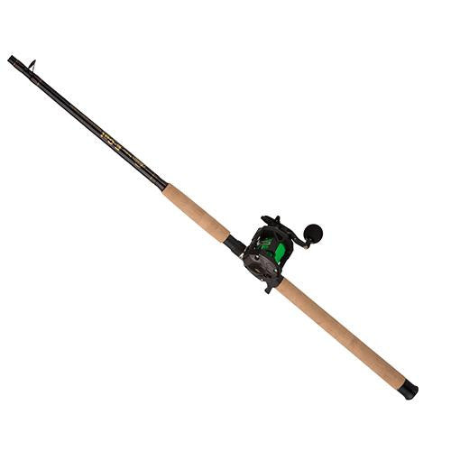 Berkley ECAT Baitcast Combo - 5.1:1 Gear Ratio, 4 Bearings, 7' Length, 1pc Rod, Medium-Heavy Power, Right Hand