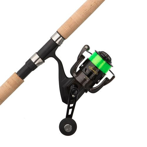 Berkley ECAT Spinning Combo - 5.2:1 Gear Ratio, 5 Bearings, 7' Length, 1 Piece Rod, Medium Power, Ambidextrous