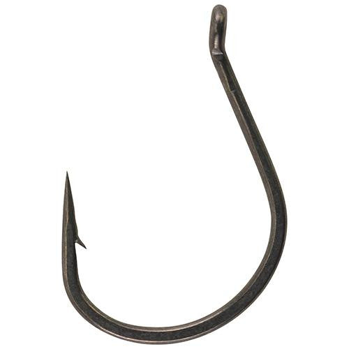 Berkley Fusion19 Finesse Wide Gap Hooks - Size 4-0 Hook, Smoke Satin, Per 5