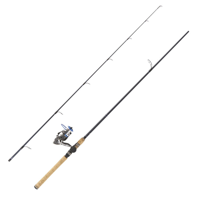 "Diamond Series IM-6 Graphite Spinning Rod - Combo, 7'6"" Length, 2 Piece, Medium Heavy Power"