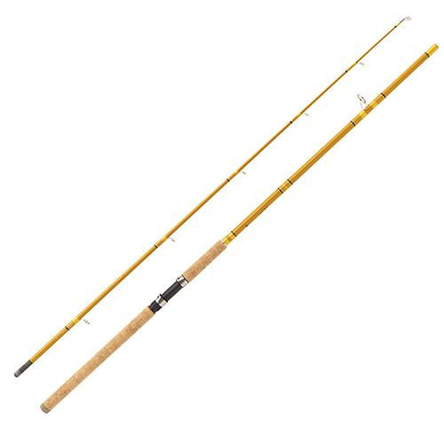Eagle Claw Crafted Glass Spinning Rod - 10' Length, 2 Piece, Crafted Glass, Heavy