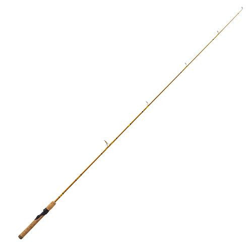 "Eagle Claw Crafted Glass Spinning Rod - 5'6"" Length, 2 Piece, Crafted Glass, Light"