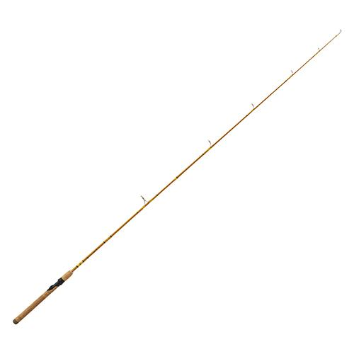 "Crafted Glass Spinning Rod - 6'6"" Length, 2 Piece, Crafted Glass, Medium"