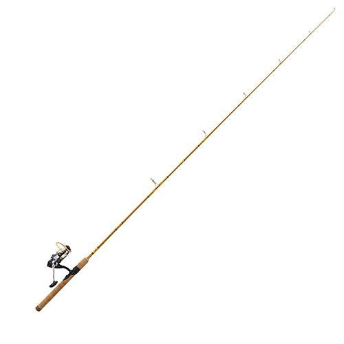 "Eagle Claw Crafted Glass Spinning Combo - 6'2"" Length, 2 Piece, Crafted Glass, Medium"