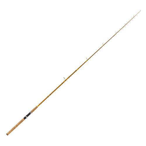 Crafted Glass Spinning Rod - 6' Length, 2 Piece, Gold Glass, Medium Heavy