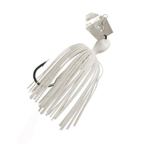 "ChatterBait Mini Lures - 3"" Length, 1-4 oz Weight, White, Per 1"