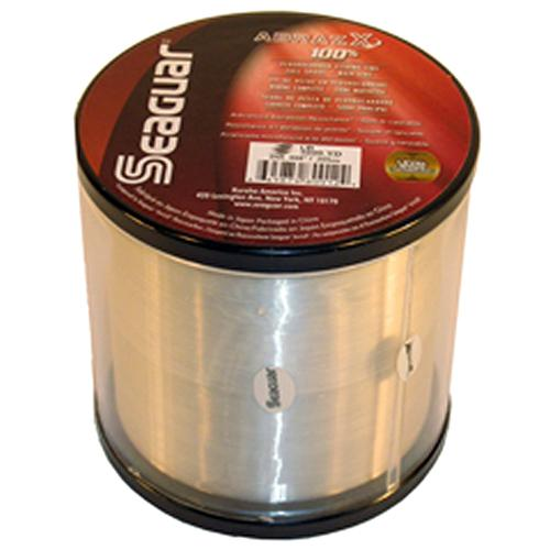 "AbrazX Freshwater Fluorocarbon Line - .010"" Diameter, 10 lb Tested, 1000Yards, Clear"
