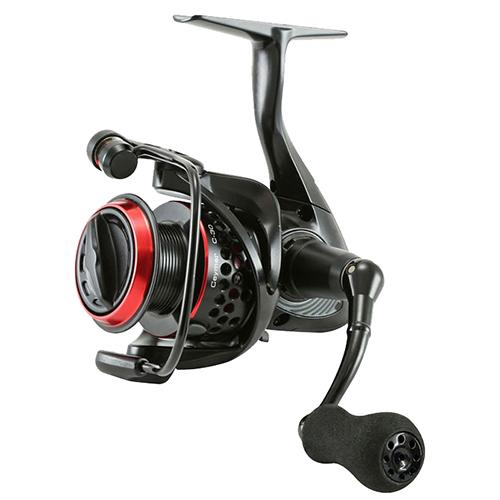 "Ceymar Baitfeeder Spinning Reel - 55 Reel Size, 4.5:1 Gear Ratio, 30"" Retrieve Rate, 19 lb Max Drag, Ambidextrous"