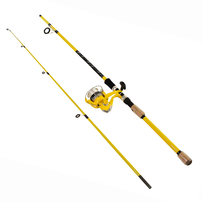 "Fin-Chaser Spinning Combo - 30, 6'6"" Length, 2 Piece, 1-8-1-2 oz Lure Rate, Medium Power, Ambidextrous"