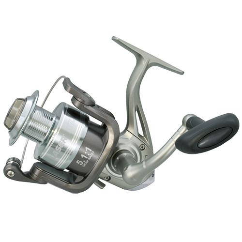 XL Speed Spin Spinning Reel - 10 Reel Size, 5.1:1 Gear Ratio, 4 Bearings, Ambidextrous, Clam Package