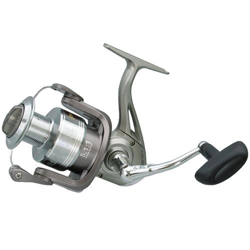 "XL Speed Spin Spinning Reel - 60 Reel Size, 5.1:1 Gear Ratio, 31"" Retrieve Rate, Ambidextrous, Clam Pacjage"