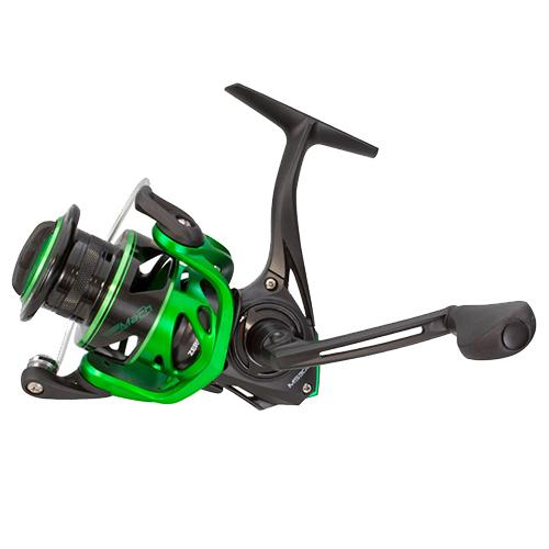 "Mach Speed Spin Spinning Reel - 6.2:1 Gear Ratio, 10+1 Bearings, 35"" Retrieve Rate, Ambidextrous, Clam Package"