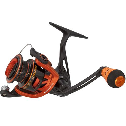 "Mach Crush Speed Spinning Reel - 400 Reel Size, 6.2:1 Gear Ratio, 35"" Retrieve Rate, 11 Bearings, Ambidextrous"