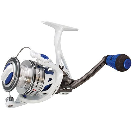 "TP1 Inshore Speed Spinning Reel - 6.2:1 Gear Ratio, 33"" Retrieve Rate, 7 Bearings, Left Hand"