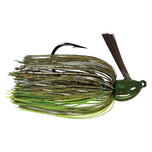 Hack Attack  Heavy Cover Jig - 5-0 Hook Sise, 1-2 oz, Summer Craw, Package of 1