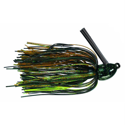 Hack Attack  Heavy Cover Jig - 5-0 Hook Sise, 1-2 oz, Texas Craw, Package of 1