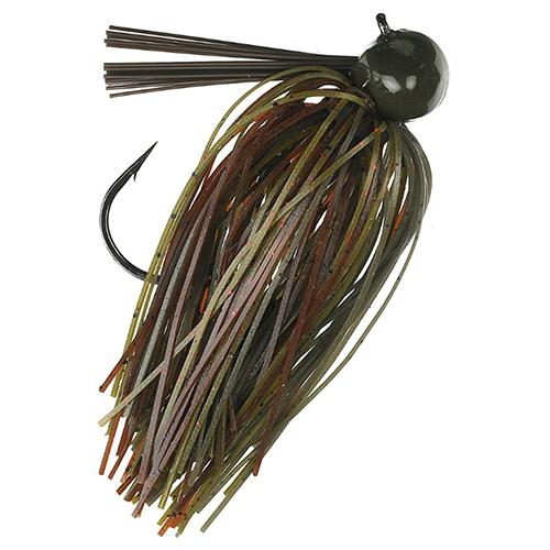 Tour Grade Football Jig - 3-4 oz, Green Pumpkin Craw, Package of 1