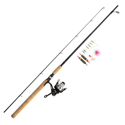 "Wright & McGill Spinning Combo, 5.2:1 Gear Ratio, 10'6"" 2pc, Medium Power"