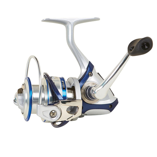 "Wright & McGill Sabalos II Saltwater Spinning Reel - 60 Reel Size, 5.6:1 Gear Ratio, 32.7"" Retrieve Rate, 18 lb Max Drag, Left Hand"