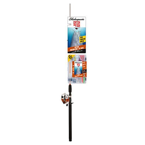 "Catch More Fishing Combo - Catfish Spincast, 6'6"" Length, 2pc, Medium-Heavy Power"