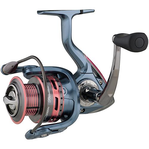 "Lady President Spinning Reel - 30 Reel Size, 5.2:1 Gear Ratio, 25.2"" Retrieve Rate, 10 lb Max Drag Ambidextrous"
