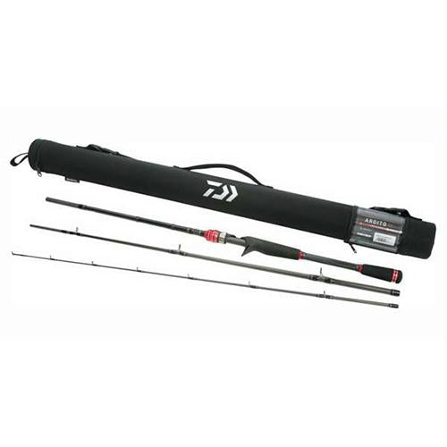 Ardito-TR Multi Piece Travel Trigger Rod - 7' Length, 6pc, 8-17 lb Line Rate, 1-4-1 oz Lure Rate, Medium-Heavy Power