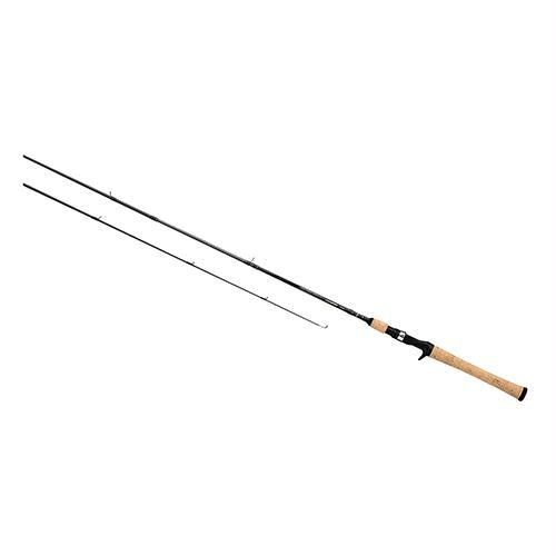 Crossfire Freshwater Casting Rod - 6' Length, 2 Piece, 8-17 lb Line Rate, 1-4-3-4 oz Lure Rate, Medium Power