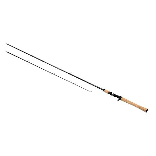 "Crossfire Freshwater Casting Rod - 6'6"" Length, 2 Piece, 8-17 lb Line Rate, 1-4-3-4 oz Lure Rate, Medium Power"