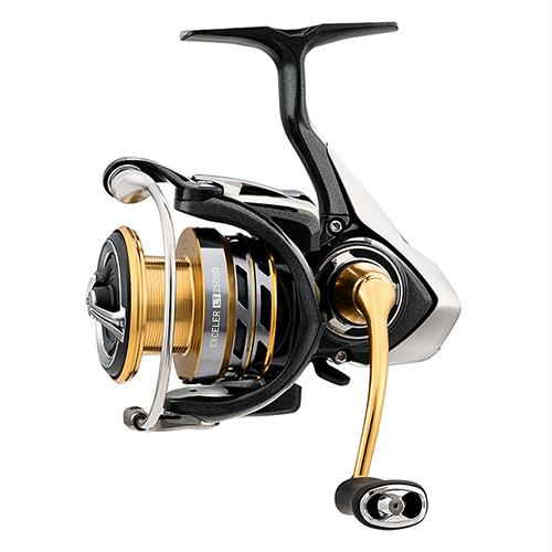 "Exceler LT Spinning Reel - 4000, 5.2:1 Gear Ratio, 32.50"" Retrieve Rate, 26.50 lb Max Drag. Ambidextrous"