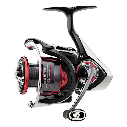 "Fuego LT Spinning Reel - 2500, 5.3:1 Gear Ratio, 29.60"" Retrieve Rate, 22 lb Max Drag, Ambidextrous"