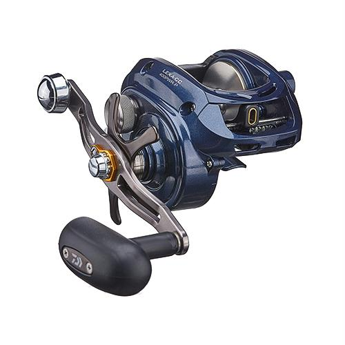 "Lexa CC 400 Casting Reel - 6.3:1 Gear Ratio, 33.40"" Retrieve Rate, 25 lb Max Drag, Left Hand"