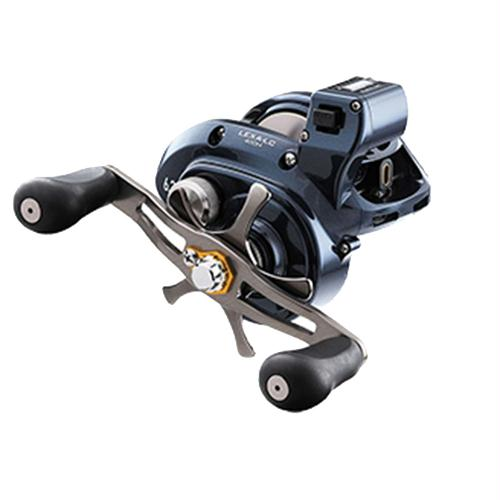 "Lexa Line Counter Casting Reel - 400, 5.5:1 Gear Ratio, 27.10"" Retrieve Rate, 25 lb Max Drag, Left Hand"