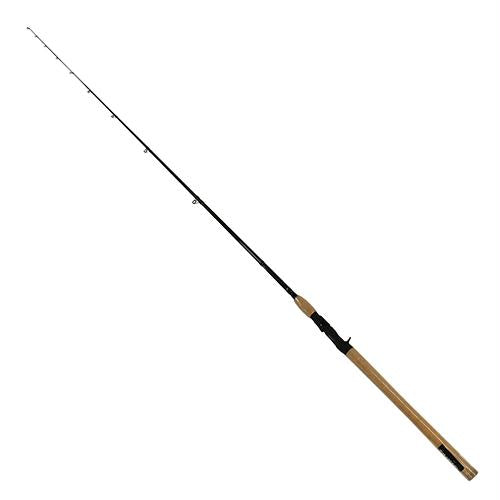 North Coast SS Freshwater Casting Rod - 9' Length, 2 Piece, 8-17 lb Line Rate, 3-8-1 oz Lure Rate, Medium Power