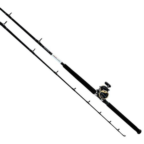 Sealine Saltwater Combo - 20 Reel Size, 6.1:1 Gear Ratio, 7' Length, 1 Piece, Medium Power, Right Hand