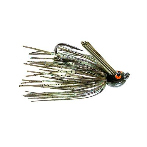 Crosseyez Flipping Jig - Size 4-0 Hook, 3-8 oz, Candy Craw, Package of 1