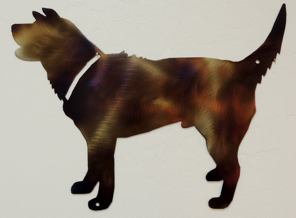 Dog & Cat Metal Wall Art