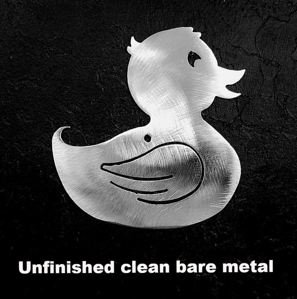 Rubber Duck metal wall art. Rubber Ducky wall art. Rubber Ducky wall hanging