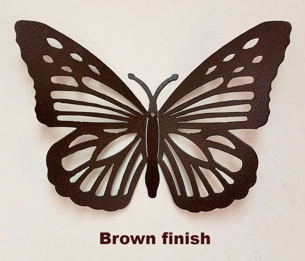 Butterfly Wall Art  Metal Butterfly Garden Art Silhouette  Ornamental iron Butterfly decor.
