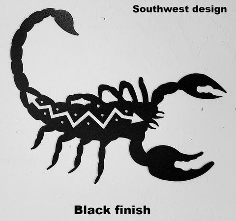Scorpion metal wall art Scorpion metal wall hanging silhouette