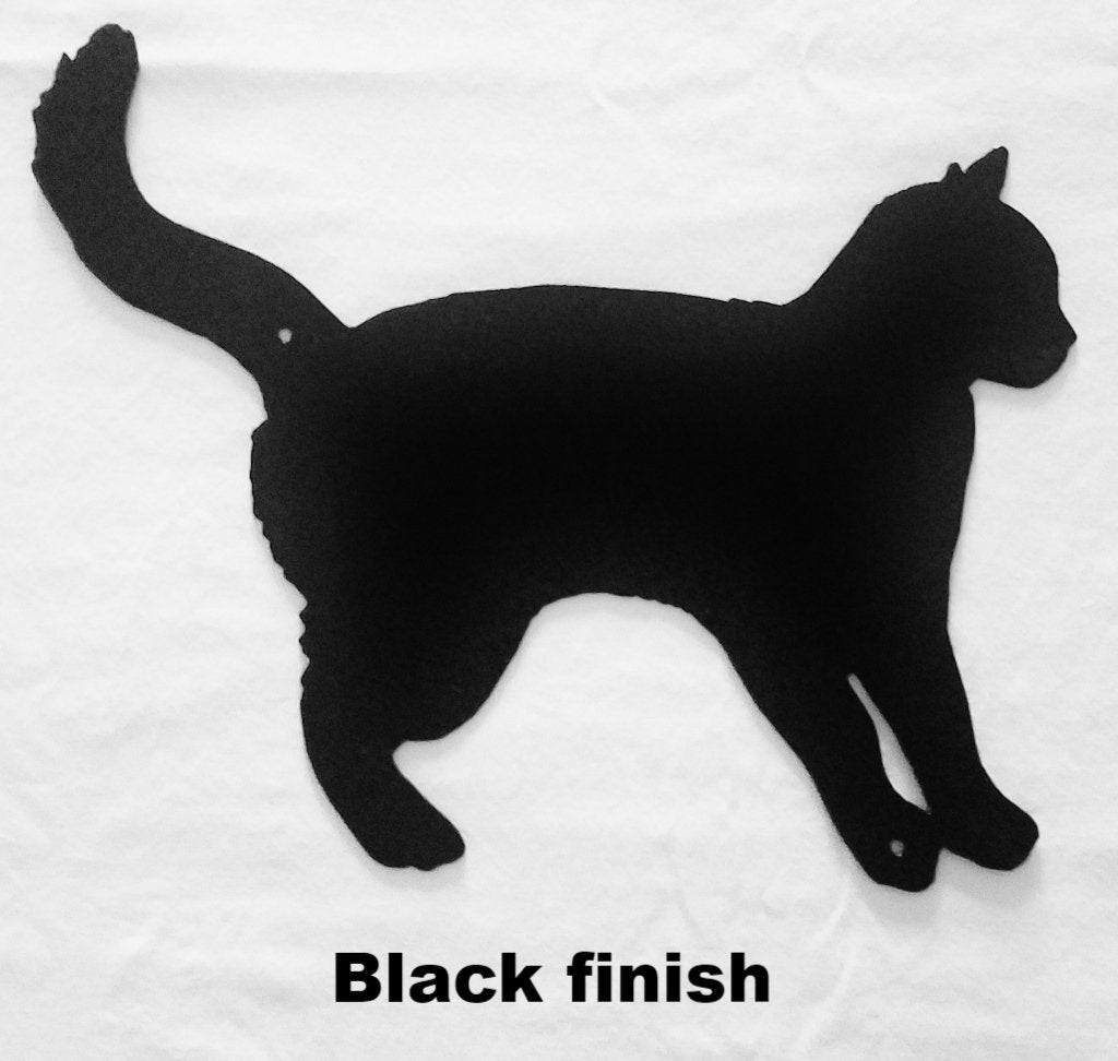 Cat Metal Wall Art Hanging. Cat metal wall Art Silhouette