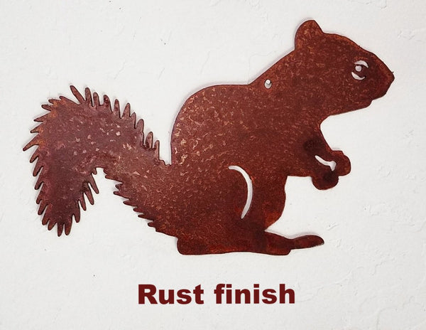 Squirrel Metal Wall Hanging. Squirrel metal Wall Art Silhouette