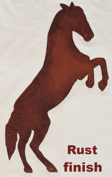 Horse Metal Wall Art Silhouette. Metal Horse wall hanging. Horse metal wall art