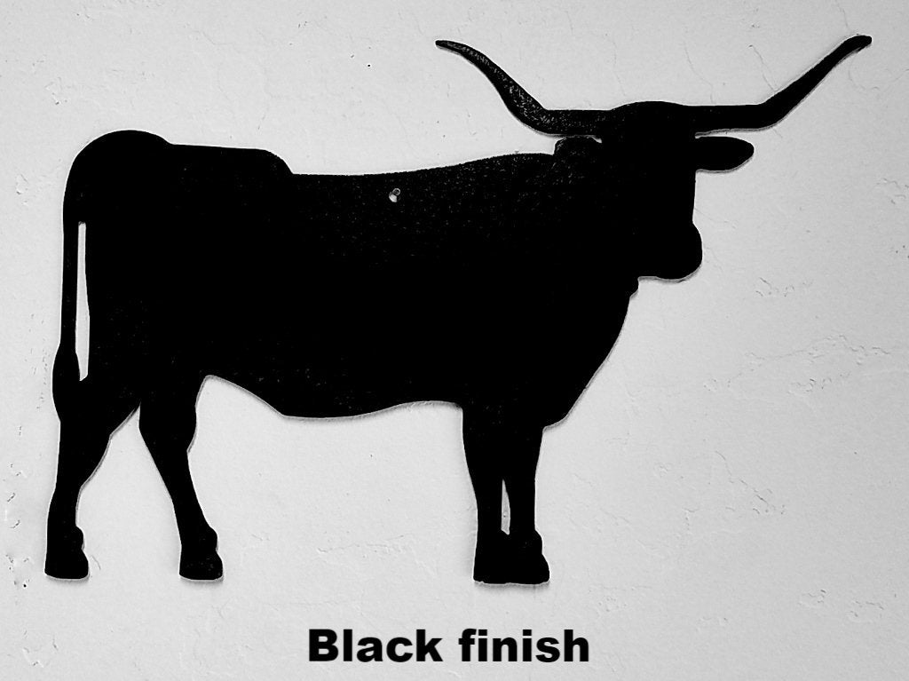 Texas Longhorn metal wall art Texas Longhorn metal wall hanging Texas Longhorn metal wall art silhouette